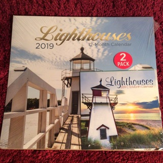 Lighthouse Calendars (2-pack)