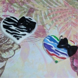Custom Zebra With Hair-bow Resin Piece