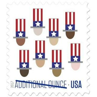 Additional Ounce Stamp Sheet. new