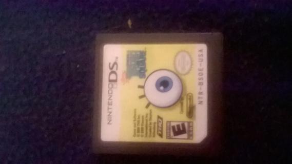 Nintendo Ds SpongeBob Truth or Square