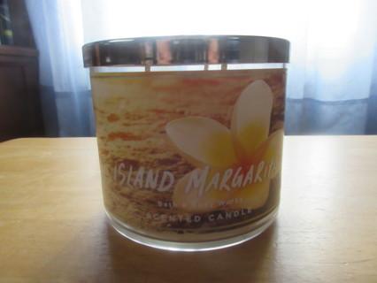 Island Margarita Bath & Body Works 3 Wick Candle