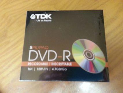 DVD-R Pkg. NEW 4.7 GB