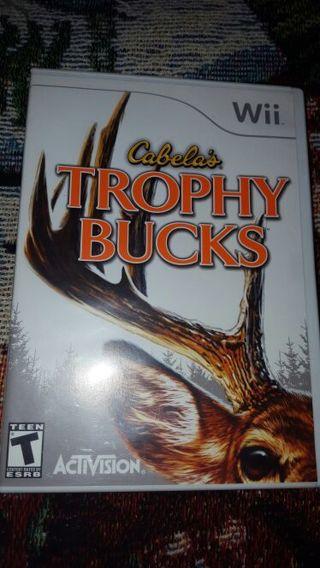 Wii Cabela's Trophy bucks