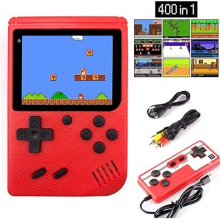 Classic Handheld Game Console w/ 400 Games