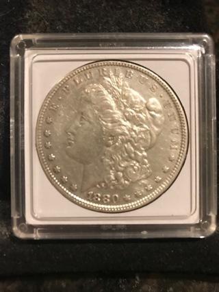 1880 MORGAN SILVER DOLLAR BEAUTIFUL CONDITION