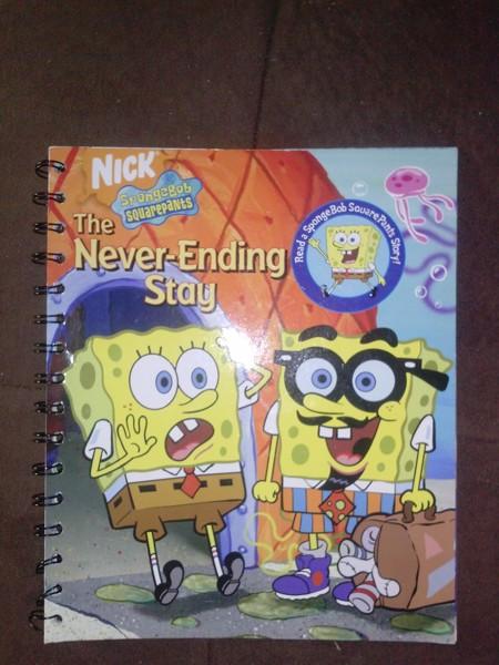 Free: SPONGEBOB BOOK@@ THE NEVER-ENDING STAY - Children's ...