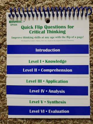 Quick flip critical thinking