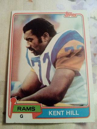 Topps #62 Kent Hill