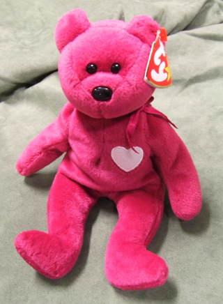 8df42e399ef Free  TY Beanie Babies Valentina the Valentine Bear - Dolls ...