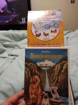 Disneys code for homeward bound...