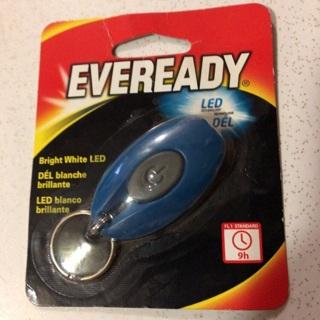 Everready Bright White LED Keychain Light
