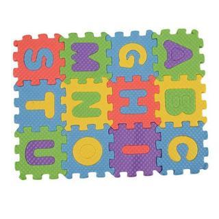 36 PCS Baby Kids Alphanumeric Educational Puzzle Blocks Infant Child Toy Gift LI