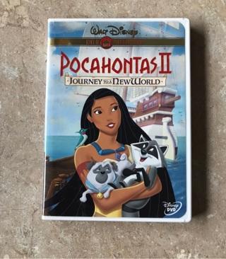 Pocahontas 2 on DVD