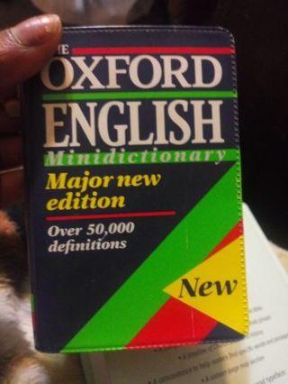 Oxford English Minidictionary