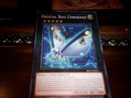 new yu-gi-oh digital bug corebage card