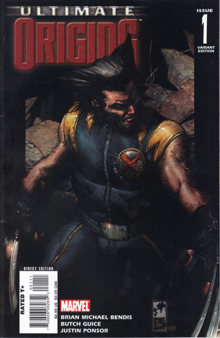 Ultimate Origins #1 Wolverine Variant *GIN BONUS*