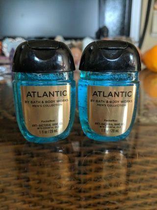 B&BW hand sanitizing gel for men