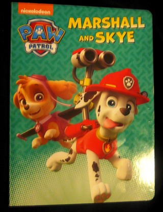 Paw Patrol..Hard Page Children's book