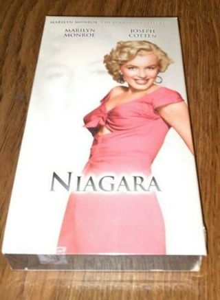 New/Sealed MARILYN MONROE NIAGRA VHS Movie Collection