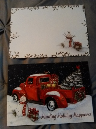 Christmas Card with Envelope -- NEW!