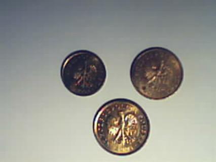 COINS OF POLAND  1, 2, 5 groszy