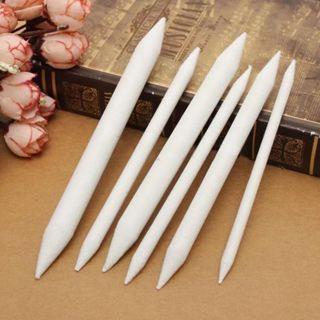 6Pcs Sketch Blending Tortillon Drawing Pen Art Drawing Pen Drawing Tool