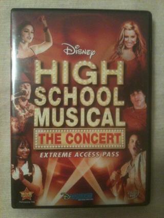 High School Musical The Concert DVD