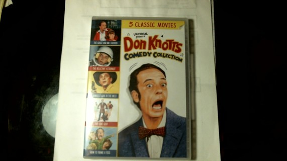 """New Sealed Unopened DVD Collection: """"Don Knotts"""" Five Classic Movies"""