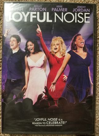 Joyful Noise DVD. Only watched 1 time.