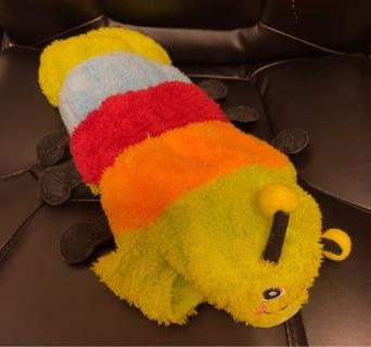 Caterpillar Dog Costume Medium