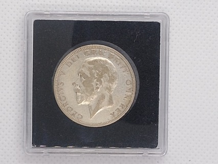1933 GREAT BRITAIN GEORGE V SILVER ONE FLORIN