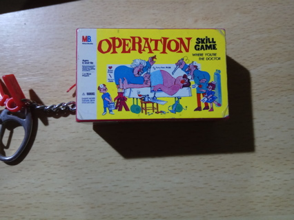 Operation Game Keychain