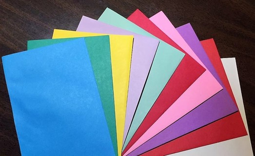 100 Small Paper Envelopes ~ Assorted Sizes & Colors
