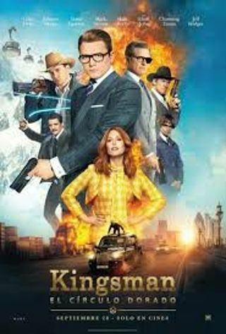 Kingsman the Golden Circle *DIGITAL HD CODE ONLY*