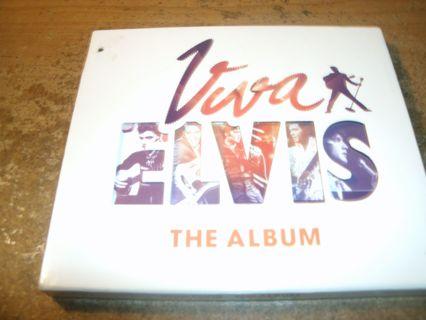 used cd-viva elvis-the album-elvis presley-vegas-2010-ex