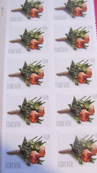 1 -  UNUSED  FOREVER STAMP AND MORE SO KEEP WATCHING !!