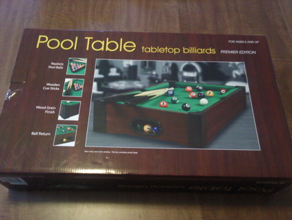 Enjoyable Free Nib Westminster Tabletop Pool Table Games Listia Download Free Architecture Designs Scobabritishbridgeorg
