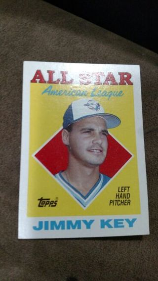 Free Baseball Card Jimmy Key 1988 Sports Trading Cards