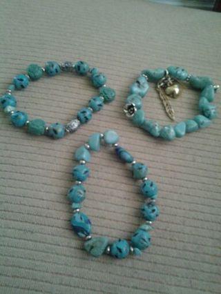 beautiful bracelets and charm earrings
