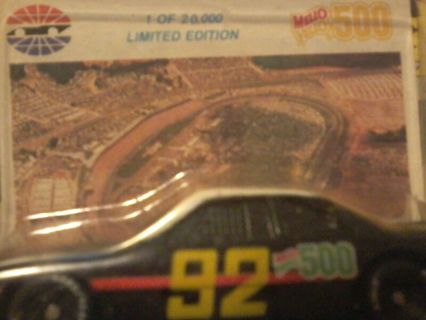 Collectable small car with card.