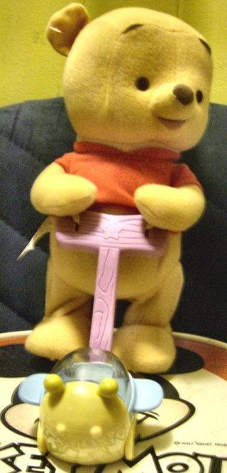 DISNEY Baby Pooh Bear Walking/Talking Toy