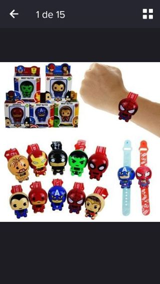 Super Hero Wrist Watch