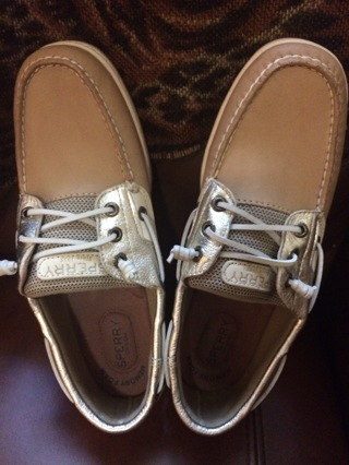 BRAND NEW SPERRY FOR WOMAN SIZE'S 9.5 NO BOX