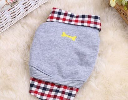 Pet Dog Cat Shirt Puppy Winter Warm Clothes Sweater Costume Jacket Coat Apparel