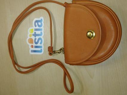 COACH Leather Orange Bag. VINTAGE
