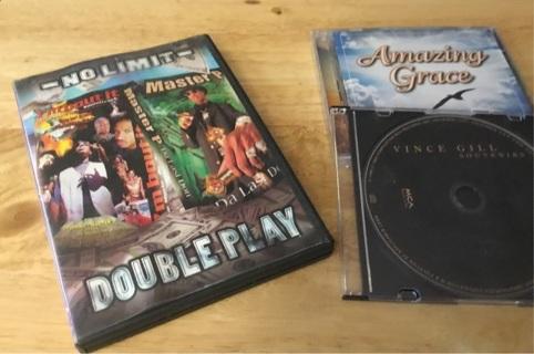 2 dvd set & 2cds