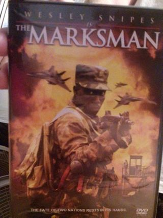 Wesley snipes is the marksman dvd