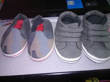 NEW Infant Boys Soft Sole Crib Shoes (See Details)
