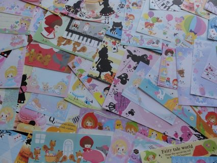Cute Kawaii Princess Fairy Dream Tale Paper Memo Set 64 pieces!!!