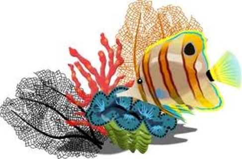 Free: Tropical Fish and Coral Cross Stitch Pattern - Needlecraft ...